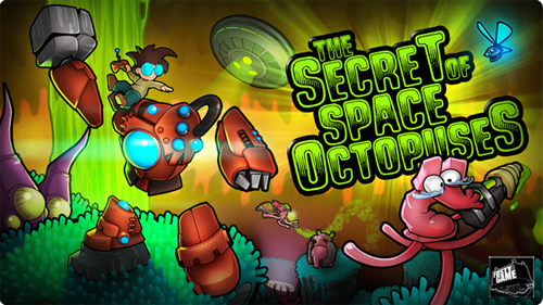 Illustration The Secret of Space Octopus
