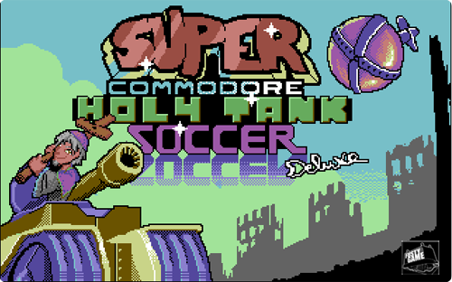 Super Commodore Holy Tank Soccer Deluxe